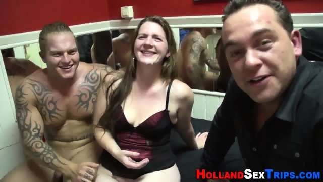 Euro amateur facialized - scene 11