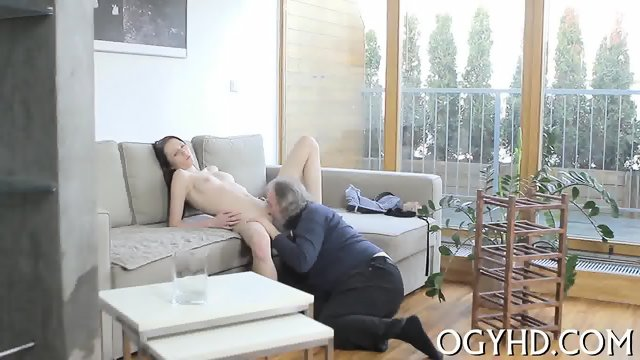 Olfd fart licks young pink pussy - scene 10