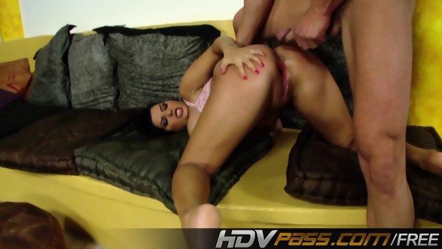 Brunette Jasmine Black Fuck a Big cock - scene 12