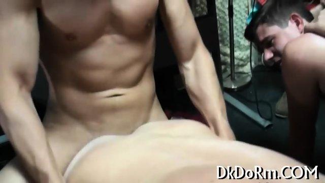 Gays look happy sucking cocks - scene 8