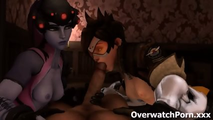 Overwatch Tracer Porn - scene 8