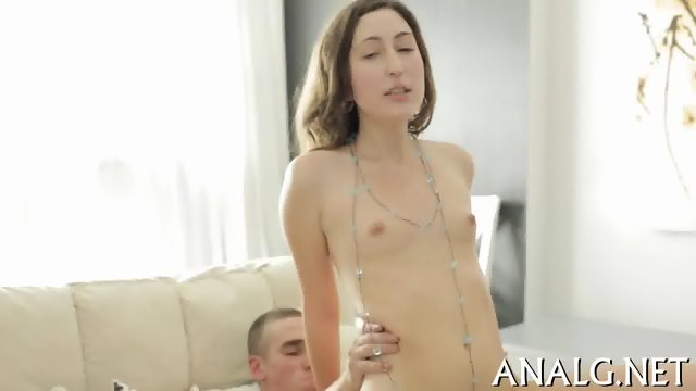 Dangerously hot anal riding