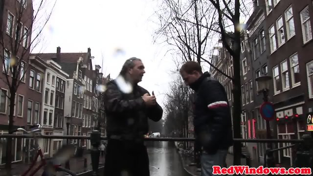 Pussynailed dutch prostitute spoiling tourist