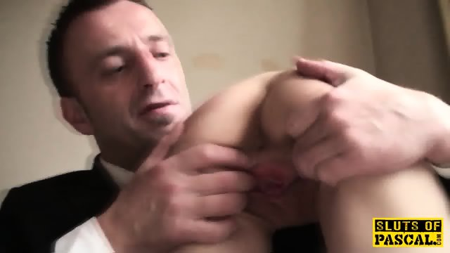 Skanky british sub gets cunt pounded roughly