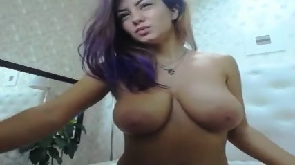 Horny Girl Shows Gloarious Big Boobs
