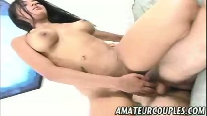 Amateur Latina rides a thick cock for the cam - scene 2