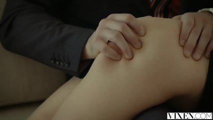 VIXEN Rich Boss Gets Threesome With Two Blondes - scene 4
