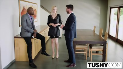 TUSHY Huge Black Cock Stretches Wifes Asshole - scene 3