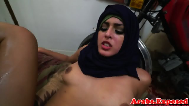 Arab babe throathed and fucked balls deep - scene 12