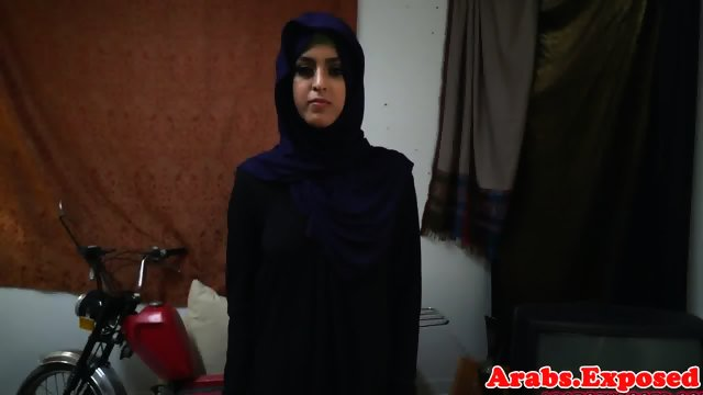 Arab babe throathed and fucked balls deep - scene 2
