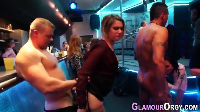 Showered glam skank jizz - scene 5