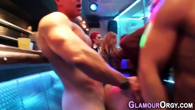 Showered glam skank jizz - scene 6