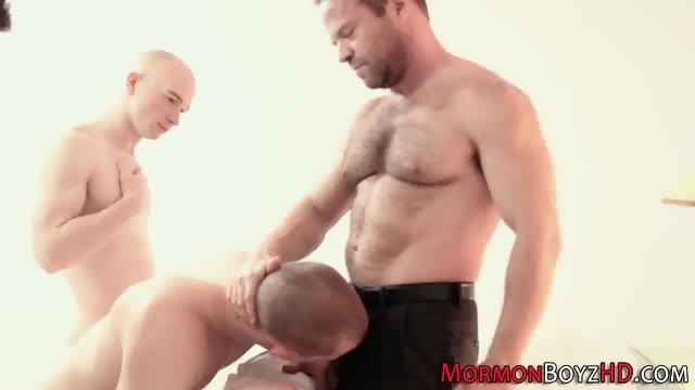 Mormon elders sucking rod - scene 8