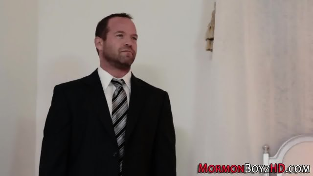 Mormon elders sucking rod - scene 1