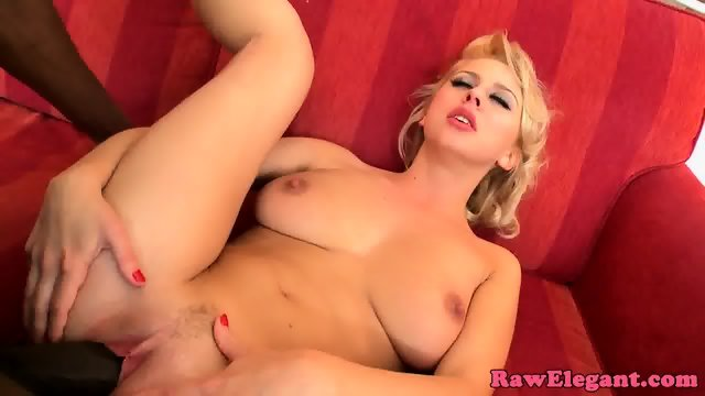 Interracial euro lover enjoys analfingering - scene 6
