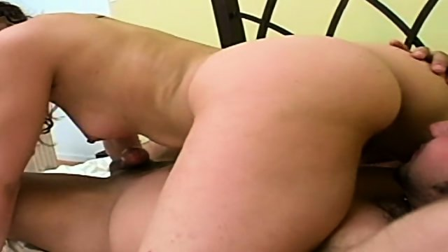 Pretty hippie girl Samantha enjoys some of that good ol ass play then cum in her butt - scene 5