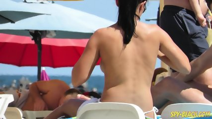 Hot Amateurs Topless Voyeur Beach - Sexy Big Tits Babes - scene 5