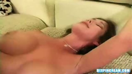 Busty Blowjob and Creampie - scene 10