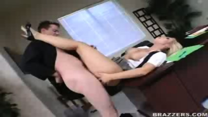 Busty Jessica screws her boss to keep her job! - scene 8