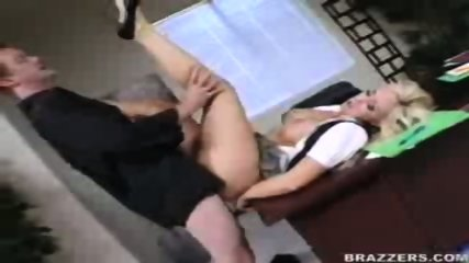 Busty Jessica screws her boss to keep her job! - scene 9