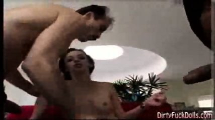 Deja Daire Sucks On A Pair Of Cocks - scene 3