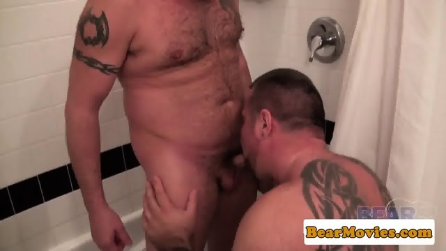 Assfucked bear fingered in tight hole