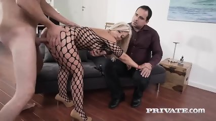 Milf Nikyta Enjoys Hard Anal While Her Husband Watches - scene 4
