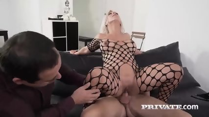 Milf Nikyta Enjoys Hard Anal While Her Husband Watches - scene 7