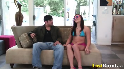 Teen Babe Vanessa Cage Loves To Slam Hard - scene 1