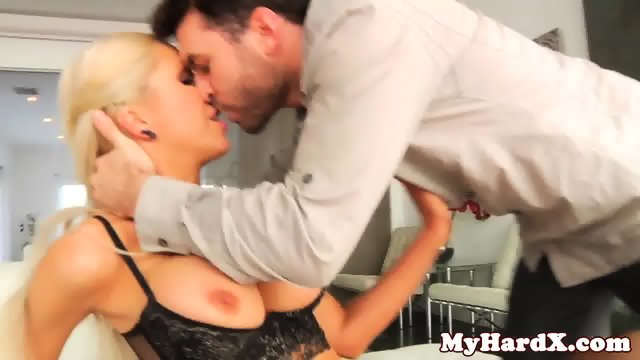 Glamour busty gonzo slut pussy stretched
