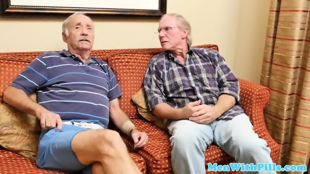 Real 18yo drinking a load of old man cum - scene 2