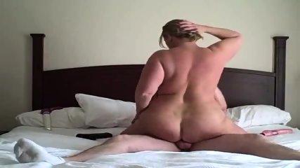 BBW Rides Dick