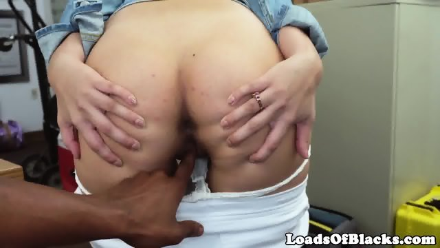 Casted amateur doggystyled by black cock 8