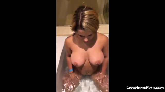Crystina Rossi in Vegas Hotel Room