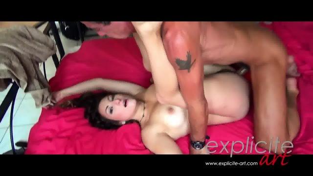Busty Charlotte Fucks With John B. Root