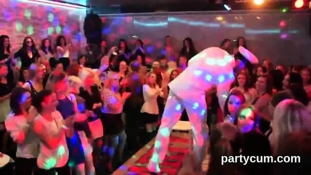 Frisky girls get entirely crazy and stripped at hardcore party - scene 4