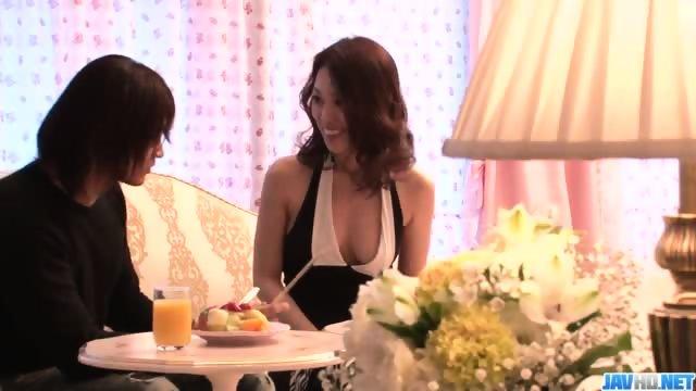 Ann Yabuki, sexy wife, gets fucked until exhaustion - scene 1