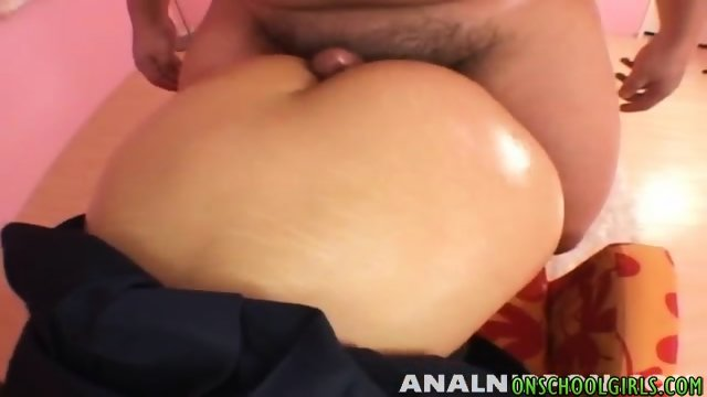 Big assed babe gives a lap dance sucks dick and gets banged - scene 11