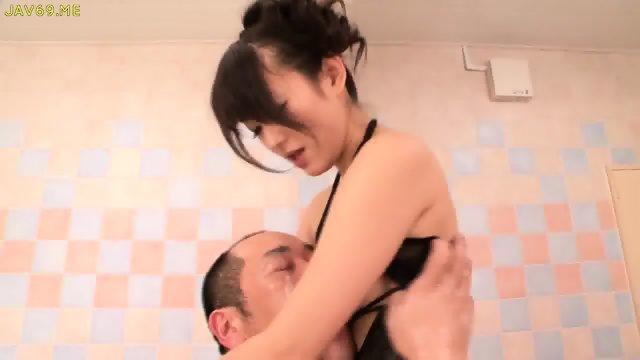 Shou Nishino Soap Superb Woman Pantyhose Ass Whip Ru Nume - scene 11