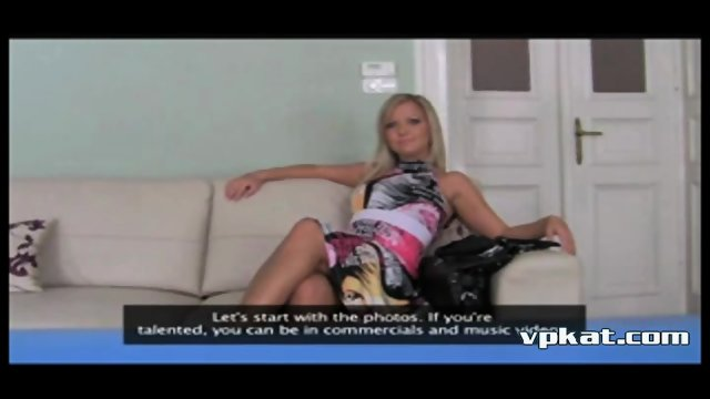 Heifer thought that came to the casting in a porn - Vpkat.com - scene 3