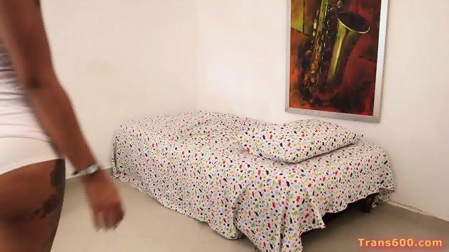 Young Shemale Jessi Martinez Intensive Anal Fuck - scene 1