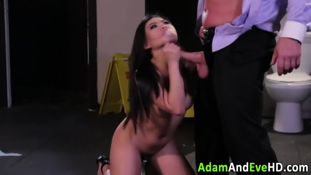Swallowing asian squirts