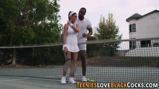 Tennis teen spunk black