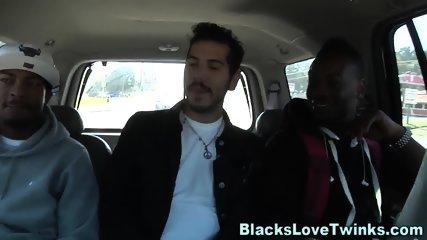 Man rides dark schlongs