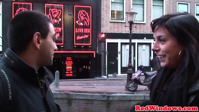Amsterday hookers threeway action