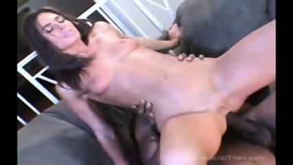 Naomi Russell interracial action on a couch - scene 2