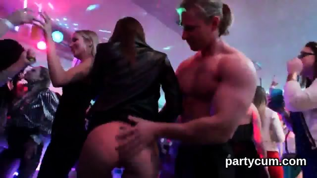 Naughty nymphos get absolutely delirious and nude at hardcore party - scene 7