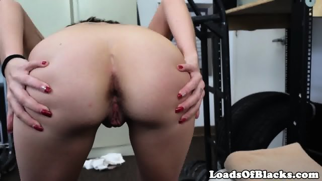 Casting amateur screwed by black agent - scene 7
