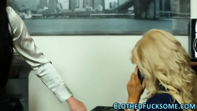 Clothed europeans fucked - scene 1