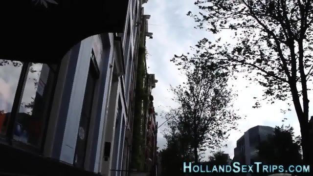 Pretty hooker rides dick - scene 2